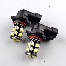 2× H10 for VAUXHALL CORSA E LED Fog Light Bulbs Canbus Error Xenon White 6500K