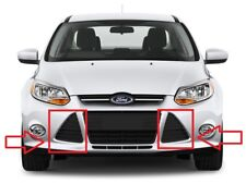 NEW FORD FOCUS MK3 2011-2014 FRONT TRIANGLE GRILLE MOULDING PAIR LEFT + RIGHT