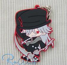 Kuroshitsuji Black Butler Undertaker Key Ring Keychain Anime Rubber Strap Charm