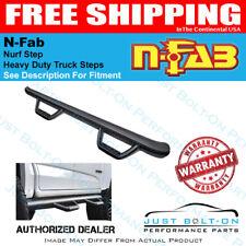 N-Fab Nerf Step 04-10 Hummer H3 SUV 4 Door - Tex. Black - W2W - 3in H0464-TX