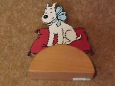 Tintin - Snowy Ribbon Money Box by Vilac - excellent condition - rare - rf828