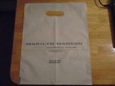 VERY RARE PROMO Marilyn Manson LP cd SHOPPING BAG Mechanical Animals Nothing NIN