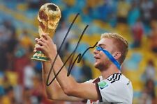 CHRISTOPH KRAMER 2 DFB WM 2014 Gladbach Foto 13x18 signiert IN PERSON Autogramm