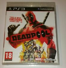 Deadpool PS3 Nuevo Sellado PAL Reino Unido Sony PlayStation 3 muerto piscina Acción Marvel Raro