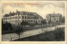 Speyer Krankenhaus Diakonissen 1915 Feldpostkarte Feldpost gelaufen mit Stempel