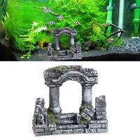 Decorazione acquario ANTICHE ROVINE ROMANE colonne rovina resina ornamento