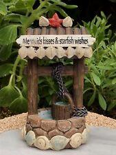 Miniature Dollhouse FAIRY GARDEN ~ Ocean UNDER THE SEA Mermaid Riding Dolphin