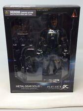 Metal Gear Solid V Ground Zeroes Play Arts Kai Figure Snake Japan N-2012-251-016