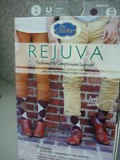 Dr Comfort Rejuva Compression Knee High Argyle  Size: M Color: Chestnut