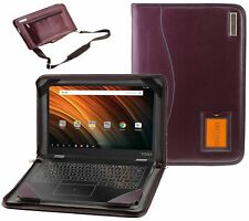"""Broonel Purple Laptop Cover For ASUS Chromebook C423NA 14"""" NEW"""
