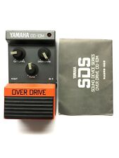Yamaha OD-10M, Overdrive, Made In Japan, 1980's, Vintage Effect Pedal