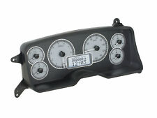 1987-89 Ford Mustang VHX System, Silver Alloy Style Face, White Display