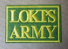 Avengers Thor Loki's Army Word Patch 3 inches wide