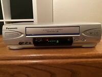 Panasonic PV-V4523S Silver VCR VHS Player Recorder No Remote