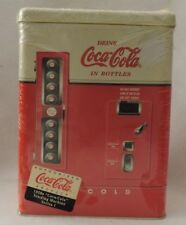 1950s Era replica of a Coca-Cola Vending Machine Tin (1997)-New in Packaging