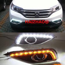 2X LED Daytime Running Light For Honda CR-V DRL CRV DRL 2012 2013 14 Day Lights