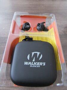 Walker's GWP-SLCR Silencer Ear Bud Digital Protection NRR25dB READ!!