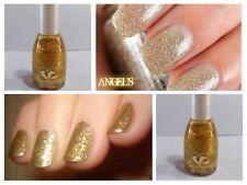 Smalto per unghia Nail Polish Art Effetto Gel a lunga tenuta Oro Glitterato New