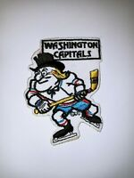 NHL Washington Capitals Vintage Circa 1970's Logo jersey- Hat Patch