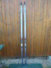 "Ready to Use Cross Country 81"" Long SUNDINS 210 cm Skis with SALOMON Bindings"