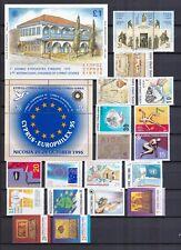 Zypern postfrisch Jahrgang 1995  ohne MiNr. Block 18