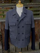 Balenciaga Paris Double-breasted Wool Jacket (Size 49 US/50 EU)