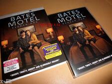 BATES MOTEL season 1 DVD Norman & Norma Bates PSYCHO tv series PALEY + art cards