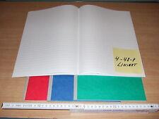 Kladde Din A4 liniert Notizbuch 96 Blatt Karton-Einband  4-96-P-LIN