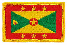 FLAG PATCH PATCHES Grenada  COUNTRY  IRON ON EMBROIDERED SMALL