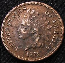 1873 INDIAN HEAD CENT - XF+ DETAILS! #13075