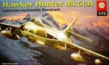 Hawker HUNTER MK 58 A (Swiss AF MARKINGS) 1/72 plastyk