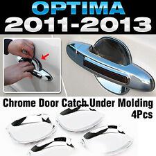 Chrome Door Catch Handle Under Molding Cover trim for KIA 2011-2015 Optima K5