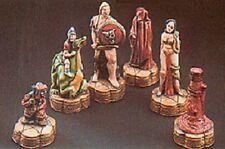 9 X SuperCast 0030 Fantasy Reusable Chess Set Latex Moulds / Molds