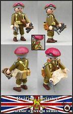 CORONEL BRITANICO PARACAIDISTA PARATROOPER WW2 CUSTOM SOLDIER SOLDADO PLAYMOBIL