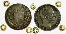 pcc2073) Regno Umberto I (1878-1900) Scudo 5 lire 1879