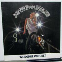1966 Dodge Coronet 440 500 Oversized Sales Brochure Color Original 383