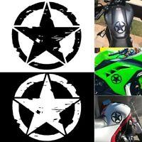EJÉRCITO estrella Calcomanías gráficas Motocicleta Vinilo Pegatinas de coches