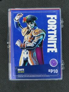 2020 PANINI FORTNITE SERIES 2 11 CRACKED ICE CARD PROMO SET *DANTE P10 INCLUDED*