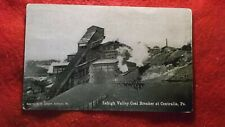 1910 LEHIGH VALLEY COAL BREAKER AT CENTRALIA PA POSTCARD