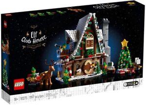 Lego Christmas Creator Winter Village ELF CLUB HOUSE 10275 - NEW