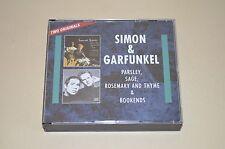 Simon & Garfunkel-parlsey, dico, Rosemary & Thyme & BOOKENDS/2cd Box/RAR