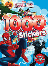 Marvel Spider-Man 1000 Stickers: Over 60 Activities Inside! by Parragon Books Ltd (Paperback, 2016)