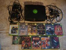lot 11 jeux Xbox + console