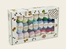 Sirdar Happy Cotton DK Happy Box - 50 x 20g balls; Ideal Gift for Crocheters!