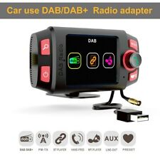 "2.4"" In-car DAB+ Digital FM Radio Receiver Adapter Bluetooth Player Handsfree"