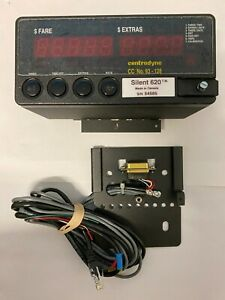 Taxi Meter, Centrodyne silent 620 meter with harness. Taximeter. Yellow Cab.
