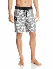NWT $50 GOTCHA MENS SWIM / BOARD SHORTS - CAMO PRINT BLACK/WHITE - SIZE 36