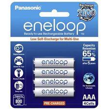 Panasonic eneloop 4 X AAA Rechargeable NiMH LSD Batteries New Australian Stock