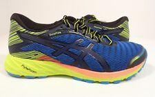 ASICS Men's Dynaflyte Running Shoe Poseidon/Black/Safety Yellow Size 6