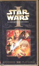 """STAR WARS I """"LA MINACCIA FANT"""" IN VHS, NUOVA, INTEGRA. MASTERIZZATA THX DIGITALE"""